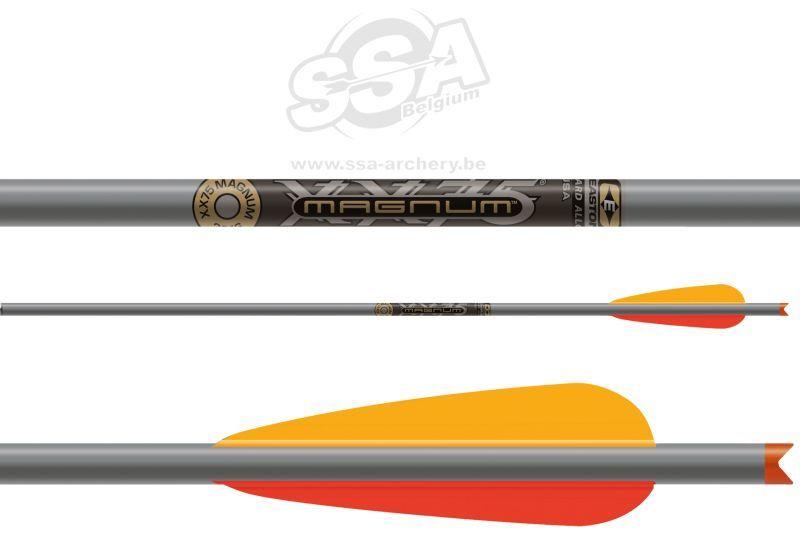 Easton XX75 Magnum kruisboogpijlen 20 inch aluminium met MOON nocks